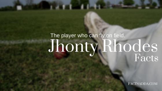 Jhonty Rhodes facts