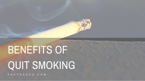 Benefits of giving up smoking