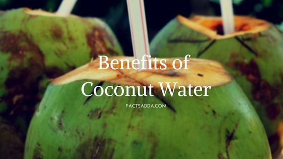Amazing benefits of coconut water (Nariyal Pani)