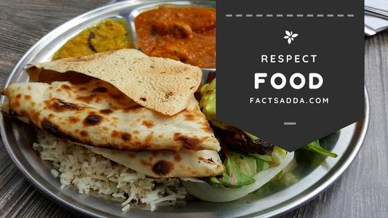 Respect food