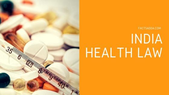 Health law status