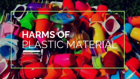 Harms of plastic material
